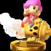 Trofeo de Aldeana SSB4 (Wii U)