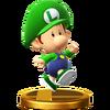 Trofeo de Bebé Luigi SSB4 (Wii U)