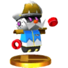 Trofeo de Capitán del escuadrón Mii SSB4 (3DS)