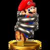 Trofeo de Mario boing SSB4 (Wii U)