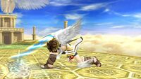 Ataque fuerte hacia abajo Pit SSB4 Wii U
