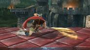 Ataque fuerte inferior de Ike SSB4 (Wii U)