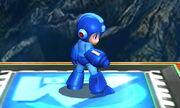 Burla lateral Mega Man SSB4 (3DS)