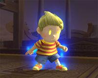 Lucas con aura SSBB