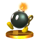 Trofeo Bob-omb SSB4 (3DS)