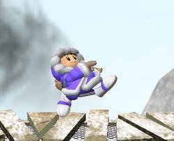 Ataque Smash hacia arriba de Ice Climbers (1) SSBM