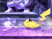 Ataque Smash lateral Pikachu SSBB