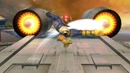Ataque aéreo normal de Captain Falcon (1) SSB4 (Wii U)