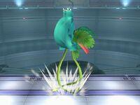 Ataque fuerte superior Ivysaur SSBB