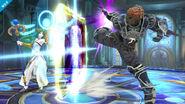 Ganondorf y Palutena en la Liga Pokémon de Kalos SSB4 (Wii U)