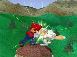Golpiza Mario SSBM