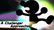 Pantalla de desbloqueo Mr. Game & Watch SSB4 (3DS)