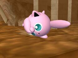 Ataque fuerte hacia abajo Jigglypuff SSBB