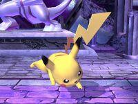 Ataque fuerte superior Pikachu SSBB