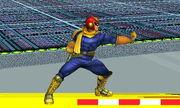 Burla lateral Capitán Falcon SSB4 (3DS)