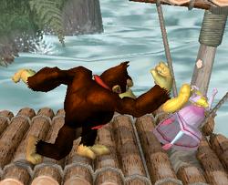 Lanzamiento hacia abajo de Donkey Kong (4) SSBM