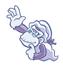 Pegatina de Wrinkly Kong SSBB