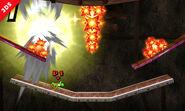 Zonas de peligro en la Smashventura SSB4 (3DS)
