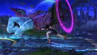 Ataque Smash Lateral Bayonetta SSB Wii U