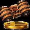 Trofeo de Barriles retropropulsados SSB4 (Wii U)