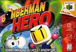 Bomberman Hero box