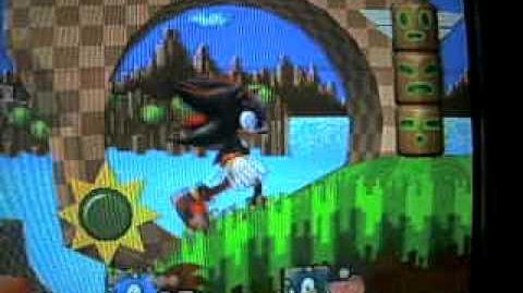 SSBB Shadow The Hedgehog vs. Classic Super Sonic