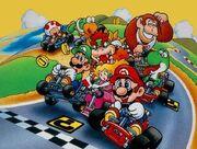 Mario Kart Racers