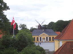 Kastellet - church and windmill