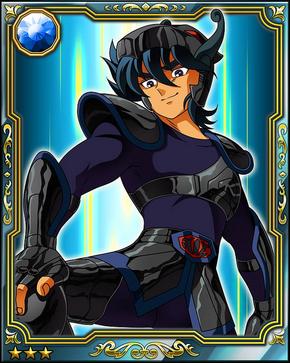 Pégaso Negro card