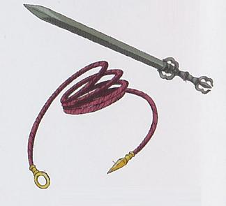 Espada e Corda de Fudou