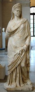 RomanWomanStatue