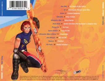 SSX Tricky Soundtrack back