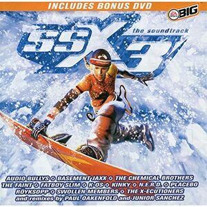 SSX3 Soundtrack front