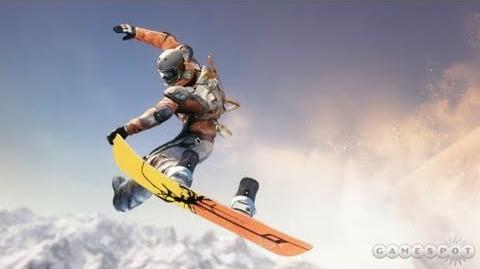 Making SSX Part 2 Physics Gameplay and Tricks Video (PS3, Xbox 360)