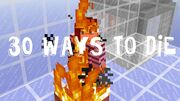 30 ways to die in minecraft Thumbnail