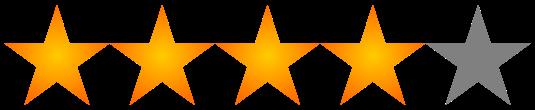 Afbeeldingsresultaat voor 4 sterren