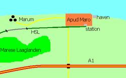 Omgeving Apud Maro
