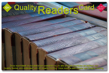 Quality Readers Card