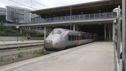 Station Zwanendorp nu