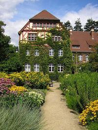 Botanische tuin huis