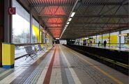 Station Zwanendorp metro