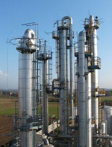 Destillatiekolommen