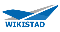 Luchthaven van Wikistad logo