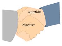 Logo Stedenband Nýttfrón-Newport