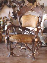 Antiqueantlerchair