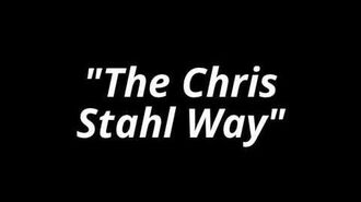 "The intro of ""The Chris Stahl Way"" season 1"