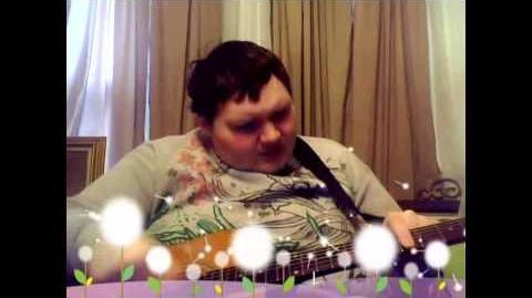 Chris Stahl sings for children