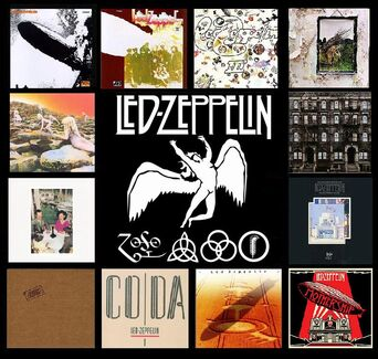 Led Zeppelin Albumss