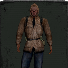 Skórzana kurtka z kapturem