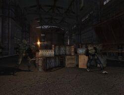 Захистити стоянку сталкерів на Смітнику від нападу бандитів quest